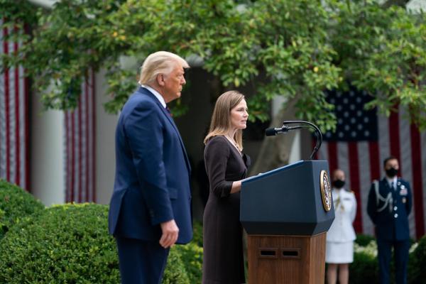 Trump Announces Amy Coney Barrett As Supreme Court Nominee