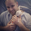 Tru Beare was born weighing just one pound as Rob Beare (father) was able to hold her on the 54th day.