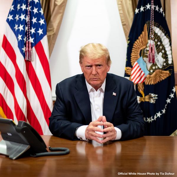 'Zero Reason to Panic' about President Trump, says White House Coronavirus Adviser
