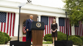 Amy Coney Barrett Draws Criticism For Ties to Christian Group