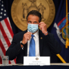 Picture: Governor Andrew M. Cuomo holds a coronavirus briefing in New York City Monday afternoon August 3, 2020.