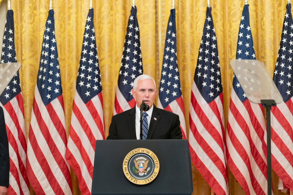 Mike Pence Has News for Democrats: 'The Dogma Lives Loudly In Me'