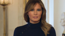 Melania Trump; The First Lady
