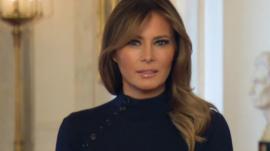 Melania Trump; The First Lady