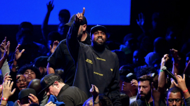 Kanye West wins Billboard award and Christian album awards.