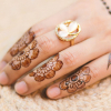 A Pakistani girl's hands
