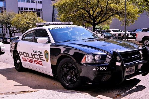 Houston Police Department squad car
