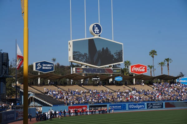 Los Angeles baseball stadium