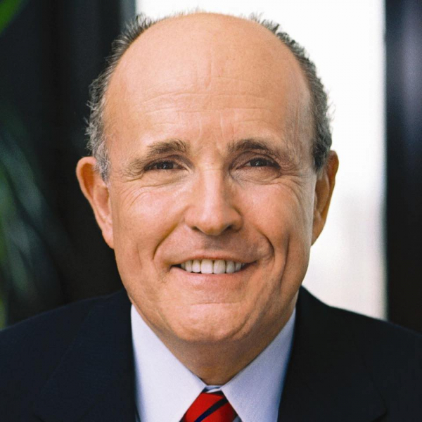 Former MYC mayor Rudy Giuliani