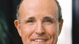 Former NYC mayor Rudy Giuliani