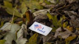 I Voted card