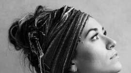 "Lauren Daigle in the ""Look Up Child"" album cover"