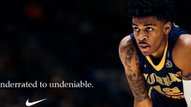 Memphis Grizzlies Point Guard Ja Morant