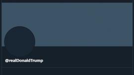President Trump's Twitter account