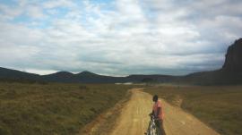 A road in Kenya