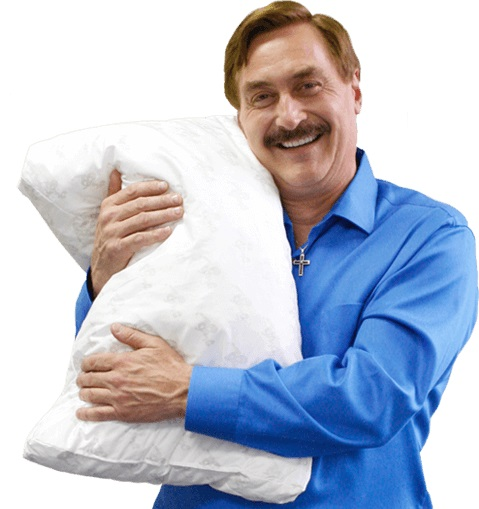 Affirming the end of the relationship with My Pillow and Mike Lindell
