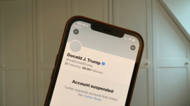 Trump's Twitter account suspended permanently