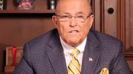Trump lawyer and former New York City Mayor Rudy Giuliani