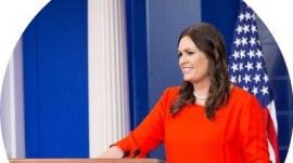 Former Trump WH Press Sec Sarah Huckabee Sanders