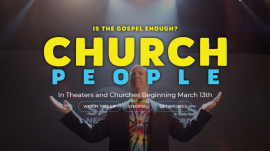 """A screenshot of the official website for the movie """"Church People"""""""