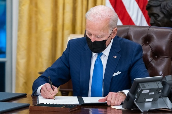www.christianitydaily.com: Biden Signs Order Banning Federal Use Of 'China Virus' And 'Wuhan Virus' To Refer To COVID-19