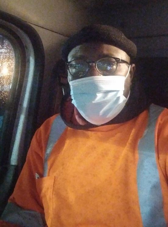 Louisiana Sanitation Worker Dion Merrick.