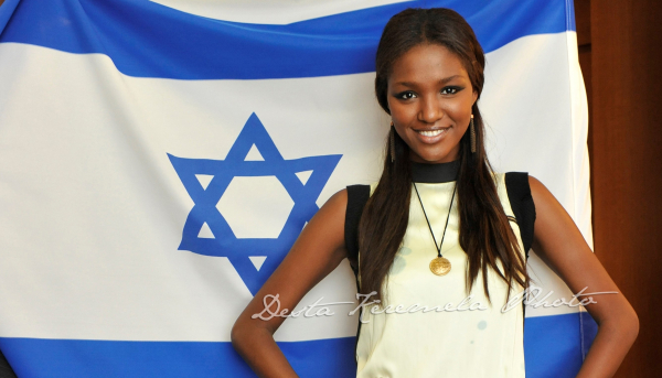 "Miss Israel Yityish ""Titi"" Aynaw -- the first Ethiopian Israeli in history to win the title"
