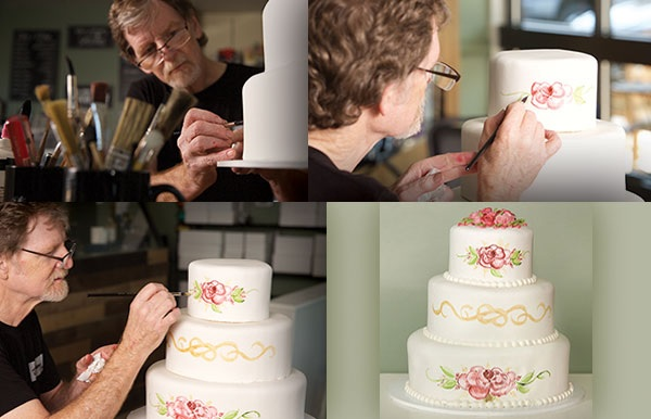 Masterpiece Cakeshop's Jack Philips at work