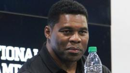Herschel Walker during the 2018 College Football Playoff National Championship Playoffs