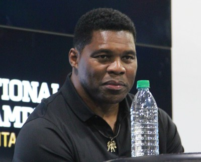 Herschel Walker during the 2018 College Football Playoff National Championship Playoffs