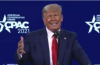 President Donald J. Trump during CPAC 2021