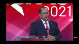 Goya Foods CEO Robert Unanue during CPAC 2021