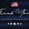 Museum of the Bible's thank you message to National Guardsmen