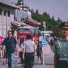 People and police in China