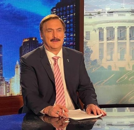 MyPillow CEO and Vocl founder Mike Lindell