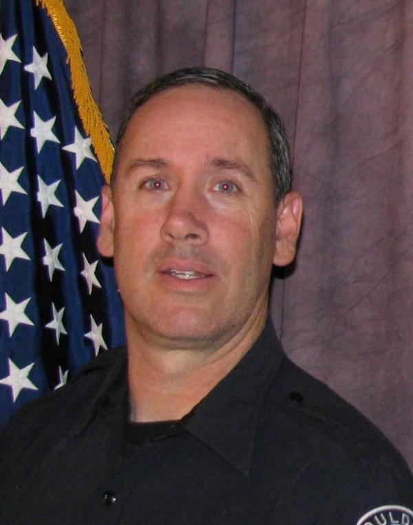 Boulder police officer Eric Talley