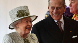 Prince Philip and wife Queen Elizabeth