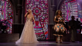 Carrie Underwood and CeCe Winans