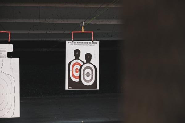 target shooting range targets