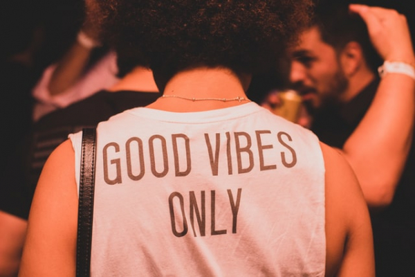 """a """"good vibes only"""" philosphy is a sign of fake Christianity"""