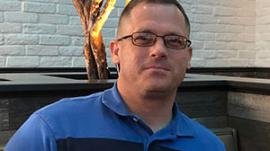 US Military Chaplain Major Andrew Calvert