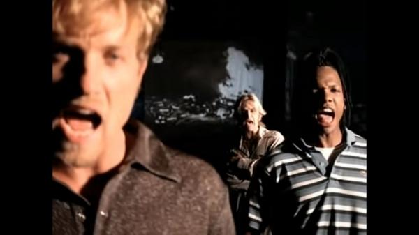 Screenshot of DC Talk performing
