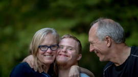 Down syndrome doesn't stop families from being happy
