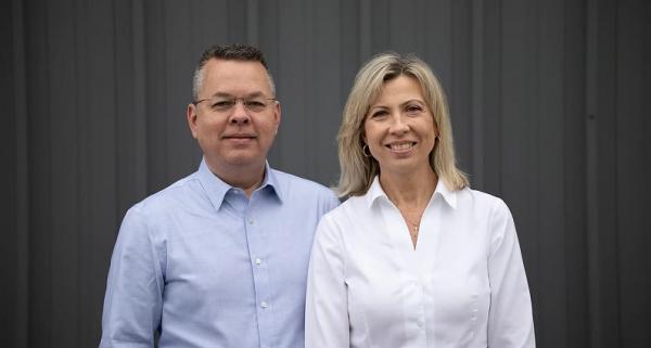 Pastor Andrew and Norine Brunson