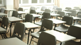School classroom tables and chairs