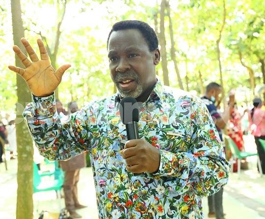 Nigerian televangelist T.B. Joshua