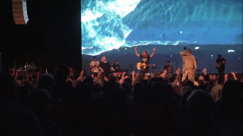Sean Feucht's Let Us Worship tour in Virginia