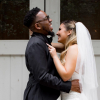Newlyweds Chandler Moore and Hannah Poole