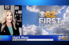 CBS meteorologist April Moss