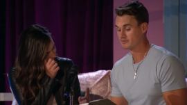 """""""The Bachelorette"""" Katie Thurston sheds tears over Mike Planeta's poem declaring his commitment"""